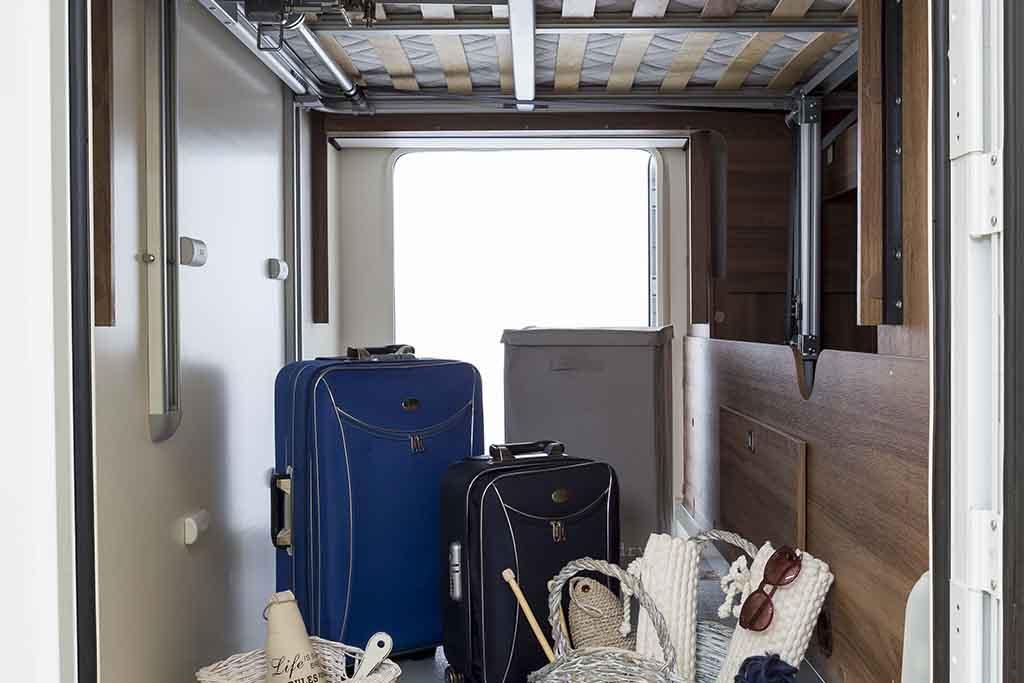 Magis 66XT maletero lleno